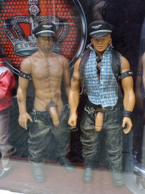 amsterdam Tom of Finland dolls