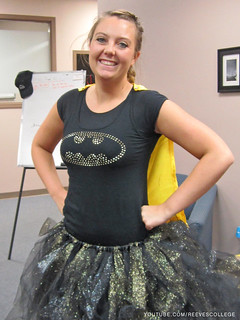 Check out Halloween Costumes at the Reeves College Lethbridge Campus in Alberta - Super Instructor