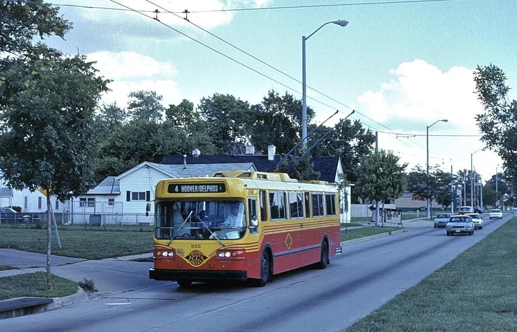 Dayton 922 in 1993 paint scheme