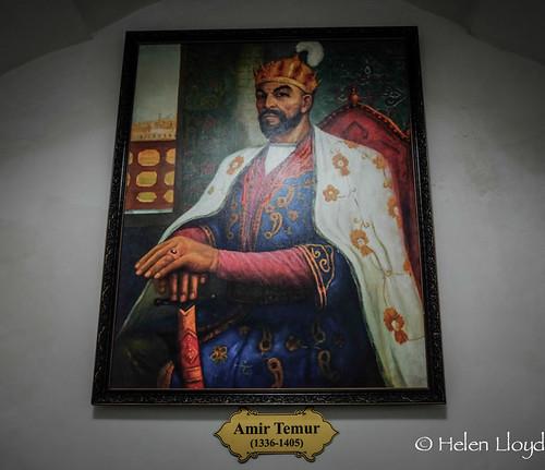 Portrait of Amir Timur (Tamerlane)