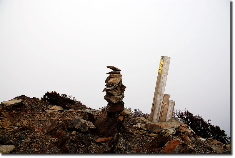 玉山南峰(Elev. 3844 m)