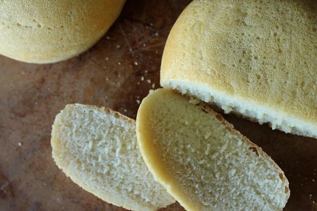 Sourdough Peasant Bread slices