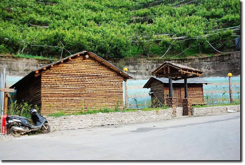 環山部落木屋