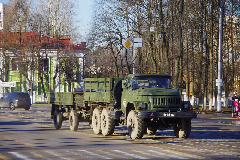 ZIL-131 + trailer - cars in Belarus