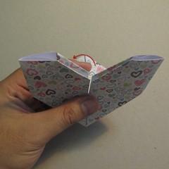 วิธีการพับกระดาษเป็นรูปหัวใจ 013