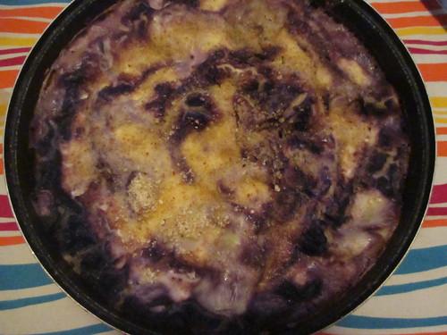 lasagne cavolo rosso