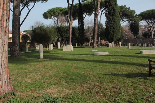 La parte antica del cimitero