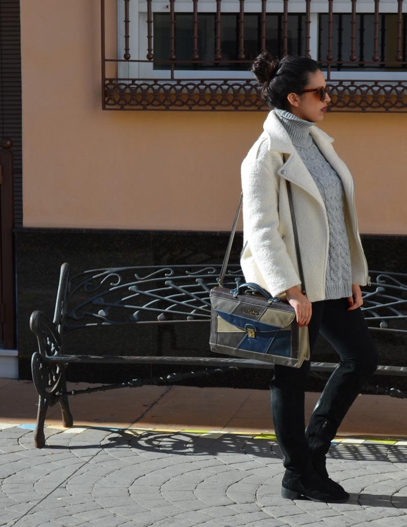 florencia blog chaqueta blanca fieltro pimkie