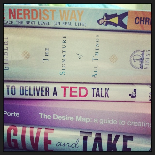 Posting about this month's reads on TaraSwiger.com. What are YOU reading?