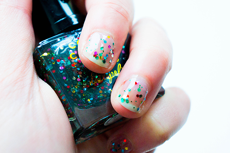 Colour Couture Nail Art Diary 2014 - January Nail Polish | www.latenightnonsense.com