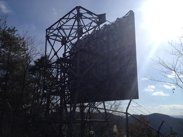 城台山 反射板