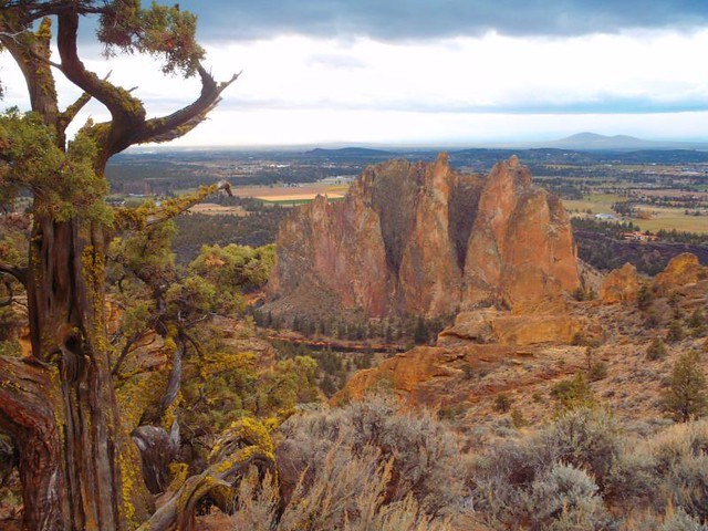 smith rocks skyline