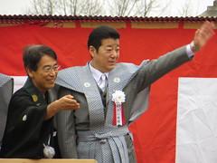 松井一郎 / Ichiro Matsui (Governor of Osaka Prefecture) in Narita-san - Neyagawa, Osaka