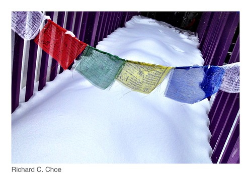 Prayer Flags 1  (2014, 2.9) by rchoephoto