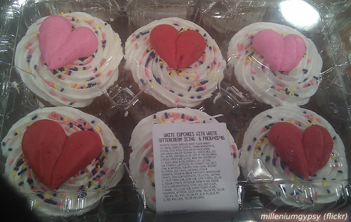 Silly cupcakes at the store