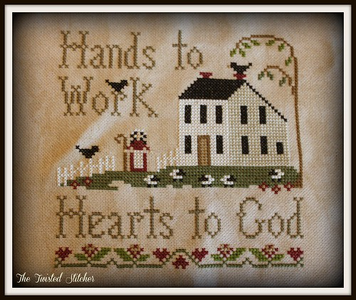 Hands to Work by Little House Needleworks