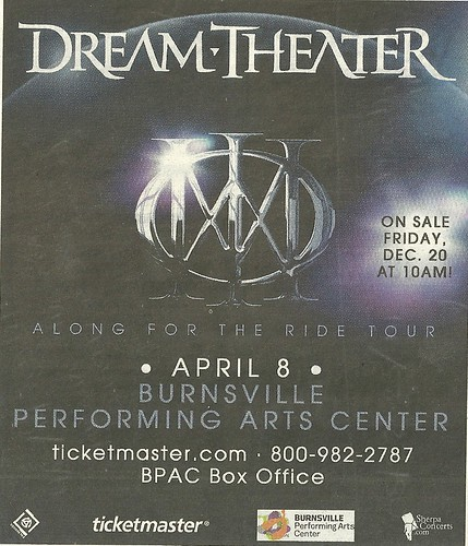 04/08/14 Dream Theater @ Burnsville Performing Arts Center, Burnsville, MN