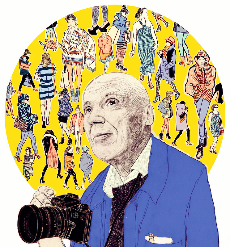 BILL CUNNINGHAM for The Cut / New York Mag