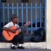 Cuban Guitarist by CHorsfall