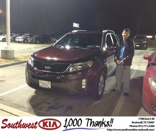 Southwest Kia Rockwall >> Southwest Kia Rockwall Texas Thank You To Carlos Saavedra