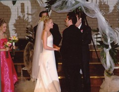 Will & Brittny saying their vows