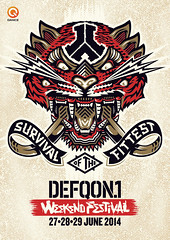 cyberfactory 2014 defqon 1 weekend warriors biddinghuizen nederland