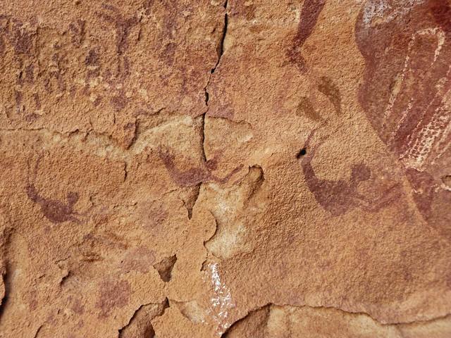 Cueva de los Nadadores. Wadi Sura en Gilf Kebir (Desierto Líbico, Egipto)