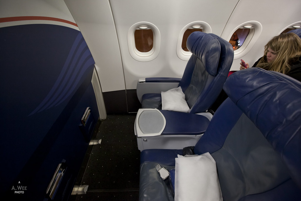 US Airways Domestic First Class seats