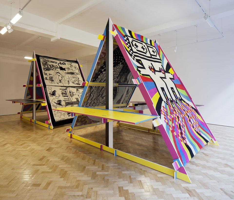 M_M (Paris) - Carpetalogue @ Gallery Libby Sellers, London 2012