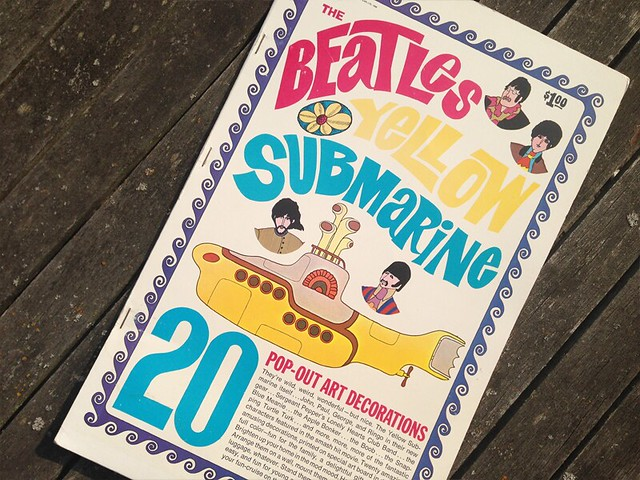 The Beatles Yellow Submarine Pop Out book