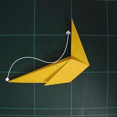 การพับกระดาษเป็นรูปไก่ (Origami Rooster) 005