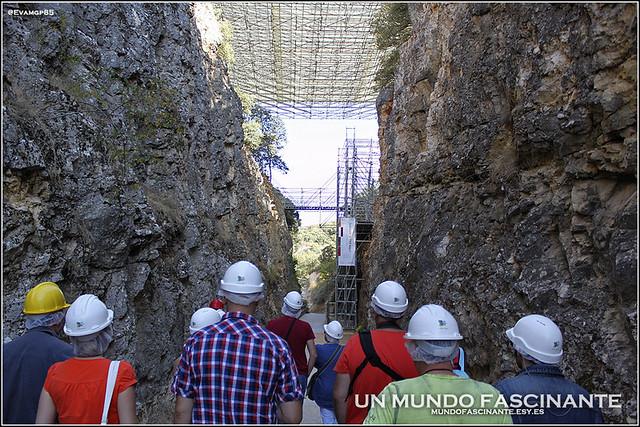 """Inicio del recorrido en """"La Trinchera"""", Yacimientos de Atapuerca"""