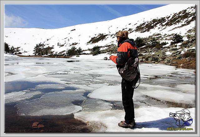 Lagunas de Neila (Burgos) heladas (11)