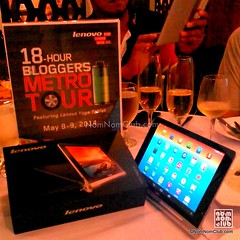 Lenovo Yoga Tablet 18Hr Challenge