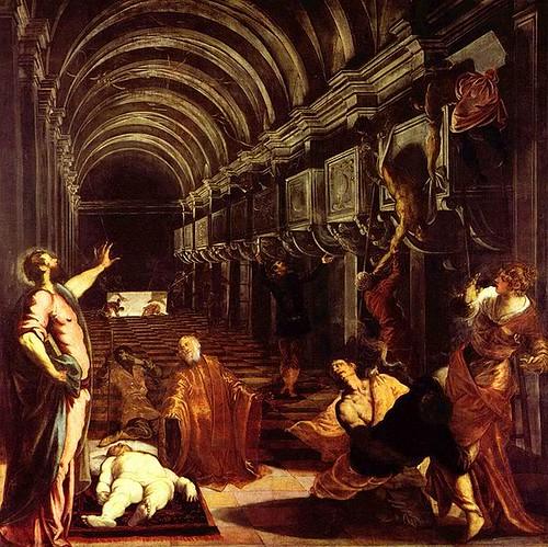 Tintoretto, Il ritrovamento del corpo di San Marco
