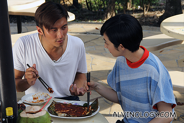 Nicholas Tse and Gwei Lun-Mei Spotted at Newton Food Centre in Singapore - Alvinology
