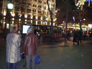 バルセロナ・夜の街_1972061