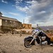 Indian Chieftain at the Old Terlingua Church