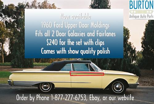 1960 Door Molding Ad
