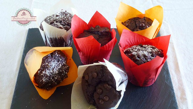 Muffins de chocolate xl