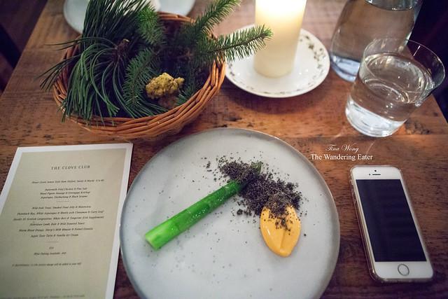 Asparagus, Black Sesame & Gochuchang