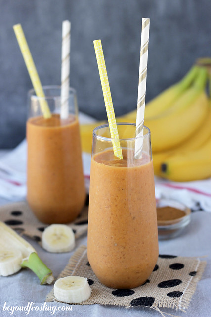 Healthy Pumpkin Banana Smoothie