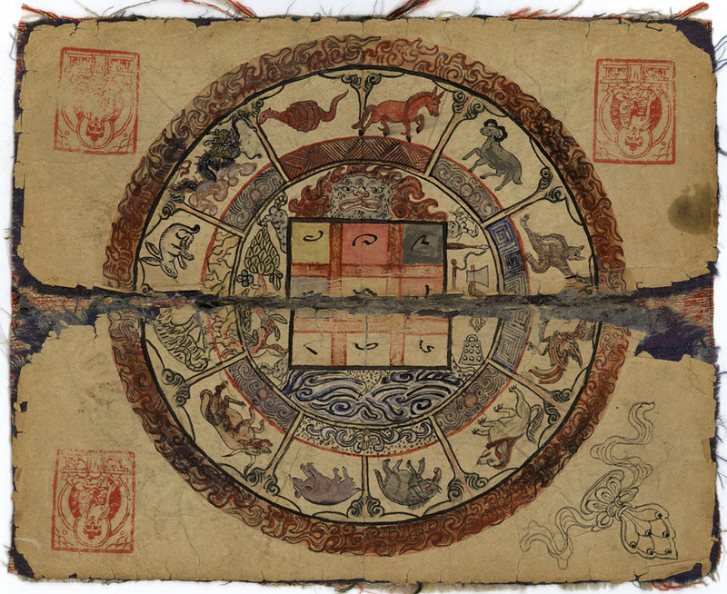 A Mongolian Manual Of Astrology And Divination The Public Domain