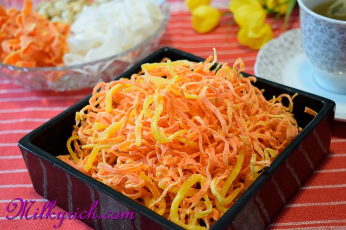 Mứt cà rốt - vỏ cam - 9