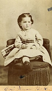 Evie Florence Beck (CDV by Charles Freeman, 19 Main Street, Charlestown, Massachusetts)