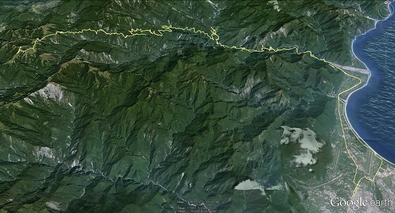 東進武嶺 路線圖