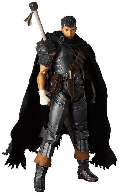【官圖 & 販售資訊公開】背負詛咒宿命的漆黑戰士,RAH「凱茲 黑衣劍士Ver.」