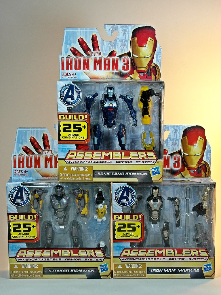 My Toy Museums Most Interesting Flickr Photos Picssr Hot Toys Iron Man Mark 25 Striker Hasbro 3 Assemblers Series No7