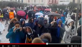 carnevale delle scuole pioggia 2015 polignano