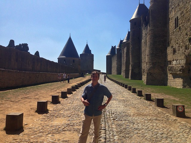 Between the Walls of Carcassonne